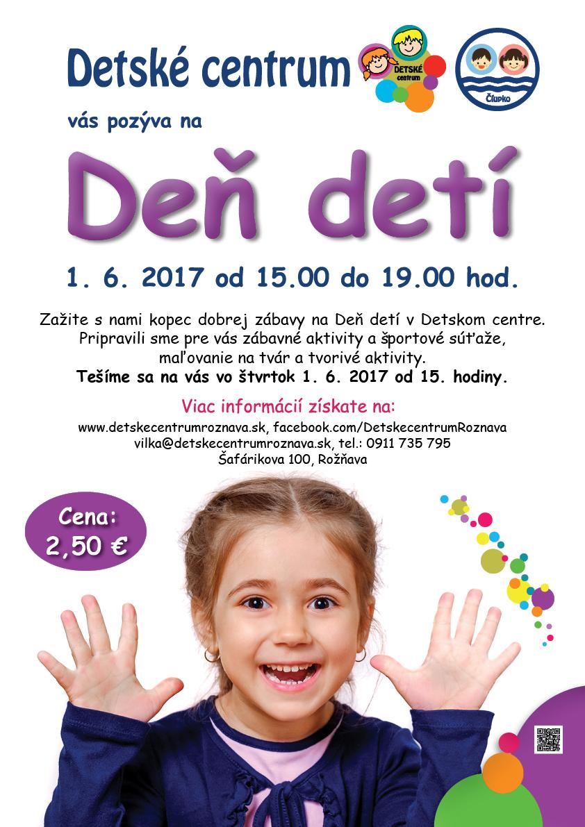 Deň detí v Detskom centre