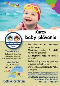 Kurzy plávania pre deti od septembra v plnom prúde